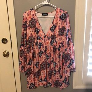 Tops - Multicolored blouse
